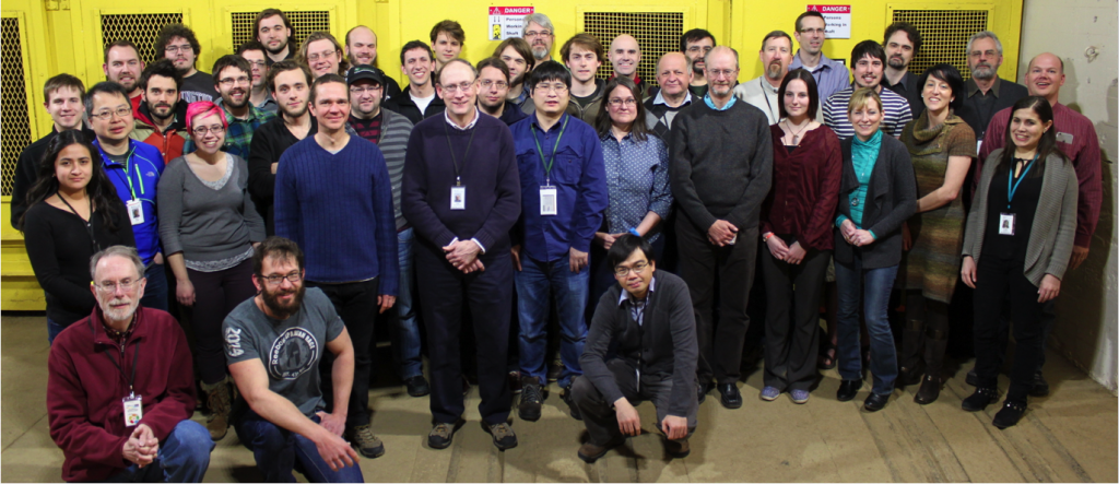 A MAJORANA Collaboration meeting in February 2015, Lead, SD